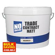 No Nonsense Trade Contract Matt Emulsion Paint Magnolia 10Ltr