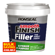 Ronseal Exterior Ready-Mixed Wall Filler Grey 1.2kg