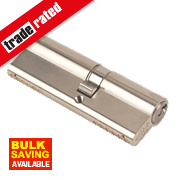 Yale 6-Pin Euro Cylinder Lock BS 40-50 (90mm) Satin Nickel