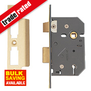 "Yale 5-Lever Mortice Sashlock Polished Brass 2½"" / 64mm"