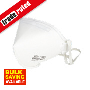 Fold Flat Dust Mask FFP1 Pack of 2