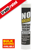 No Nonsense Sanitary Silicone Black 310ml