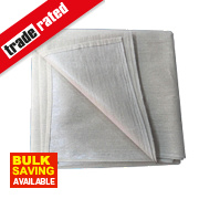 No Nonsense Poly-Backed Dust Sheet 12