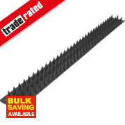 Black Wall Spikes Pack of 8