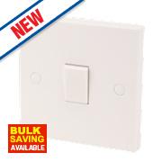 1-Gang 10AX Intermediate Switch White