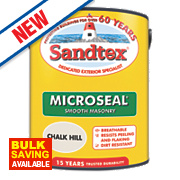 Sandtex Smooth Masonry Paint Chalk Hill 5Ltr