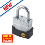 Yale Protector Laminated Steel Padlock 45mm