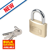 Smith & Locke Brass Padlock 50mm