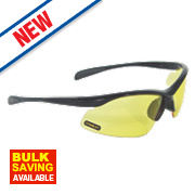 Stanley 10 Base Curve Yellow Lens Safety Specs