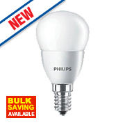 Philips LED Mini Globe Lamp Frosted SES 6W