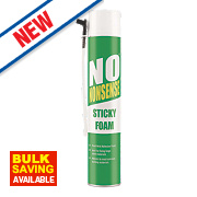 No Nonsense Expanding Sticky Foam Hand-Held 750ml