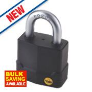Yale Protector Weatherproof Steel Padlock 55mm
