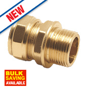 Pegler Prestex PX42 Male Compression Coupling 22mm x 1""
