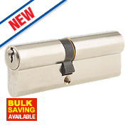 Union 6-Pin Euro Cylinder Lock 45-55 (100mm) Satin Nickel