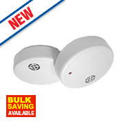 Dicon SA902CBUK Ionisation Smoke Alarms Twin Pack