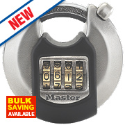 Master Lock Stainless Steel Combination Discus Padlock 70mm