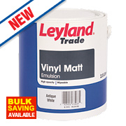 Leyland Trade Vinyl Matt Emulsion Paint Magnolia 2.5Ltr