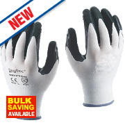 Skytec Krypton Gloves White/Dark Green Large