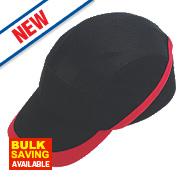 Vent Cool Bump Cap Black