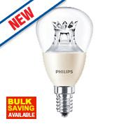 Philips LED Mini Globe Lamp Clear SES 6W