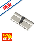 Century 5-Pin Euro Double Cylinder Lock 35-35 (70mm) Nickel