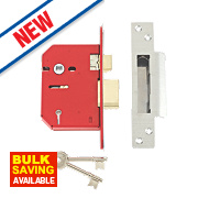 "Union 5-Lever Mortice Sashlock Stainless Steel 3"" / 81mm"