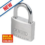 Abus Brass Titalium Padlock 40mm