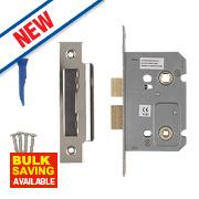 Smith & Locke Bathroom Mortice Lock Polished Chrome 65 x 22mm