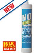 No Nonsense Premium Glazing Sealant White 290ml