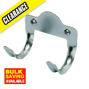 Metal Tool Hooks Galvanised 50mm Pack of 5
