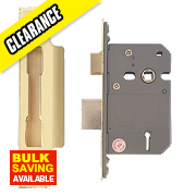 "Eclipse 5-Lever Sashlock Electro Brass 2.5"" / 64mm"