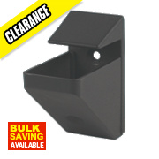 Heavy Duty Shelfit Bracket Black Pack of 2