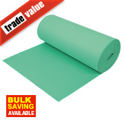 Acoustalay Economy Fire Retardant Foam Underlay 3mm 18.75m² Green