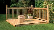 Decking Kits with Handrails