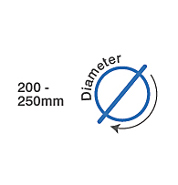200-250mm