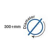 300mm +