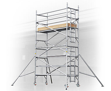 Narrow Scaffold Towers