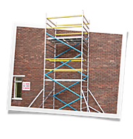 Double Scaffold Towers