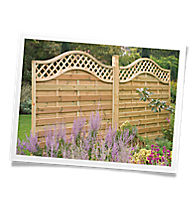 fencing garden fencing fence outdoor living. Black Bedroom Furniture Sets. Home Design Ideas
