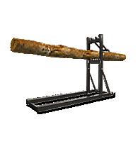 Log Sawhorses
