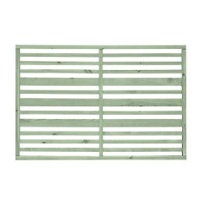 Grange Timber Urban Garden Screen Panel Sage Green 1.2 x 1.8m 3 Pack