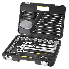 "Stanley FatMax ½"" Socket & Wrench Set 40Pcs"