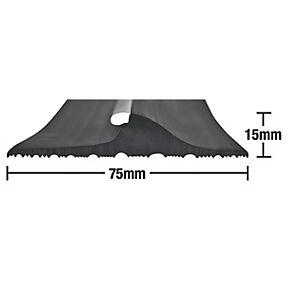 stormguard garage threshold seal black 25mm. Black Bedroom Furniture Sets. Home Design Ideas