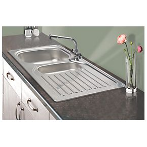Ebay Franke Sink : Details about Franke Kitchen Sink Stainless Steel 1? Bowl & Drainer ...