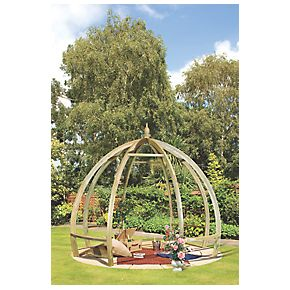 Grange Apollo Pergola Green 3.45 x 3.45 x 2.85m