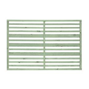 Grange Timber Urban Garden Screen Panel Sage Green 1.2 x 1.8m 5 Pack