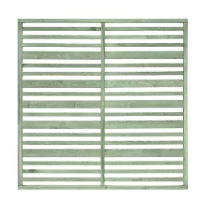 Grange Timber Urban Garden Screen Panel Sage Green 1.8 x 1.8m 4 Pack