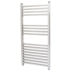 Kudox Cadiz Designer 800 x 330mm Towel Radiator - Chrome