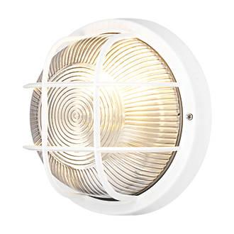 screwfix direct bulkhead wall light white 240v special. Black Bedroom Furniture Sets. Home Design Ideas