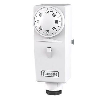 how to change hot water cylinder thermostat